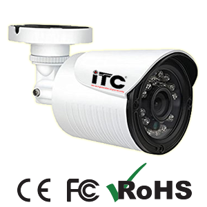 kamera cctv itc aluminium cashing produk