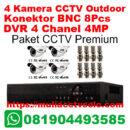 paket cctv premium solo raya 4 kamera outdoor