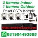 paket cctv komplit solo raya jasa pasang 3 kamera indoor 1 kamera outdoor