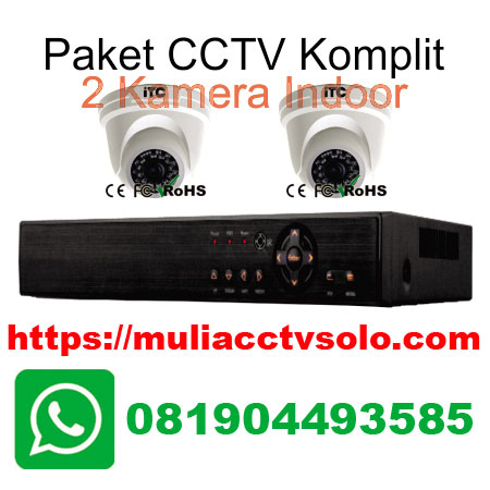 paket cctv solo komplit pasang