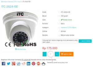 cara belanja online kamera cctv di toko mulia cctv solo