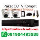 paket komplit cctv solo raya jasa pasang 2 kamera indoor