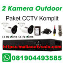 paket cctv komplit solo raya jasa pasang 2 kamera outdoor