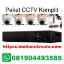 paket komplit cctv solo raya jasa pasang 4 kamera indoor