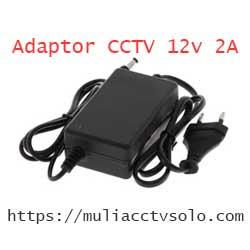 toko jual adaptor cctv 12v 2a solo raya