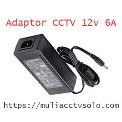toko cctv di solo jual adaptor 12v 6a