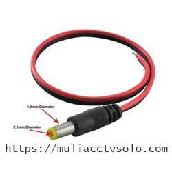 toko cctv di solo jual jack dc male kabel merah