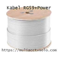 toko jual kabel cctv rg59+power harga murah solo raya