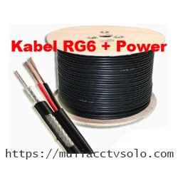 jual kabel cctv rg6+power harga murah solo raya
