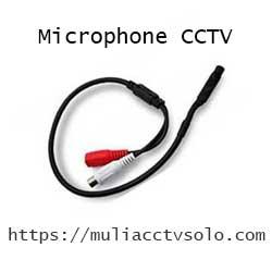 jual acessories cctv microphone kabel harga murah solo raya