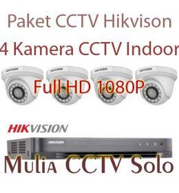 paket 2 kamera cctv hikvision sukoharjo