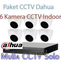 Jual paket 6 kamera cctv dahua sukoharjo kabupaten