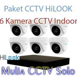 paket 6 kamera cctv hilook harga murah karanganyar