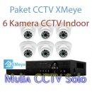 toko jual paket cctv 6 kamera xmeye harga murah solo raya