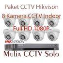 jual paket 8 kamera cctv hikvision harga murah