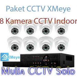 jual paket 8 kamera cctv dvr xmeye harga murah solo raya